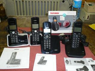 Lot de téléphonnes sans fil