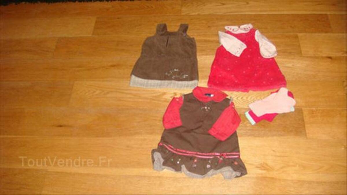 Lot de vêtement bébé fille 6 mois 56194150