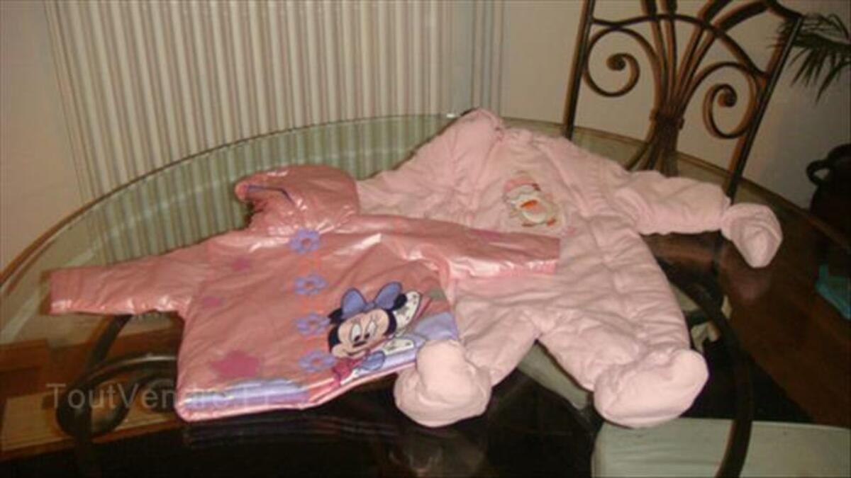 Lot de vêtement bébé fille 6 mois 56194152
