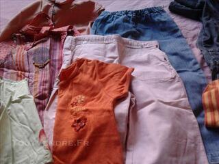 Lot de vêtement pour fillette 5 ans