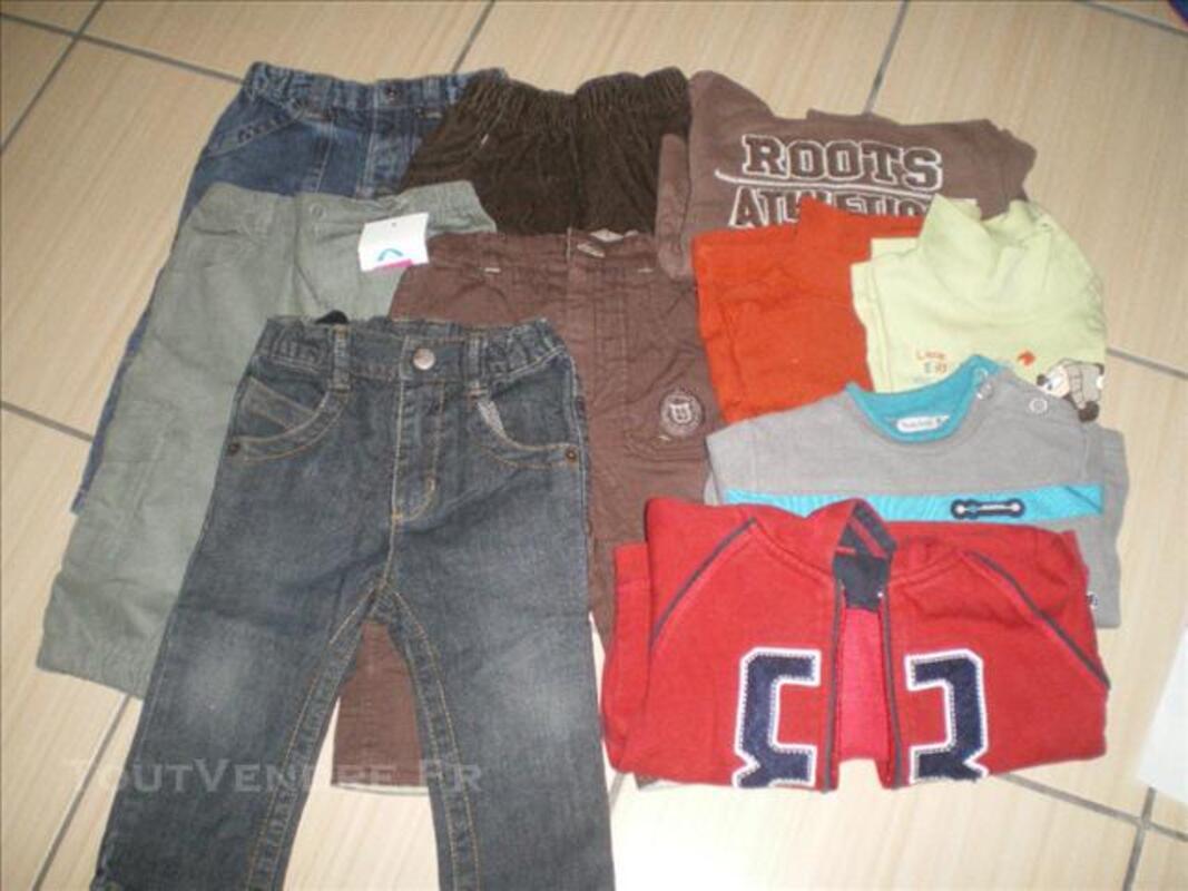 Lot de vêtements bébé garçon T. 12 mois 73999831