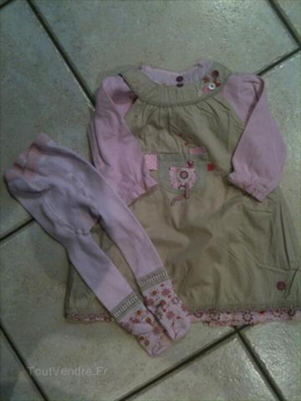 Lot de vêtements d'hiver pour fille 6 / 9 mois 56169097