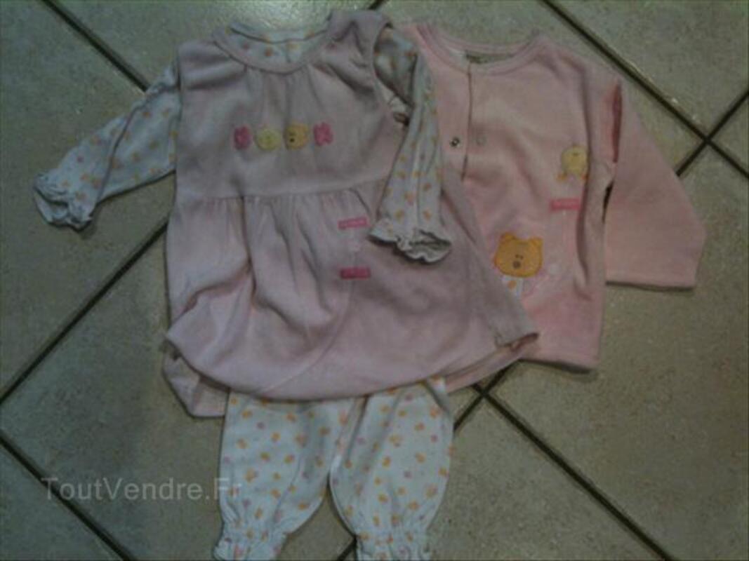 Lot de vêtements d'hiver pour fille 6 / 9 mois 56169098
