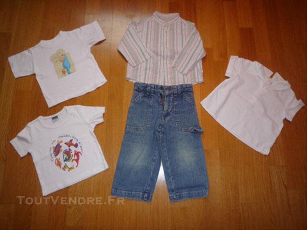 Lot de vêtements Fille 2 ans 76733638