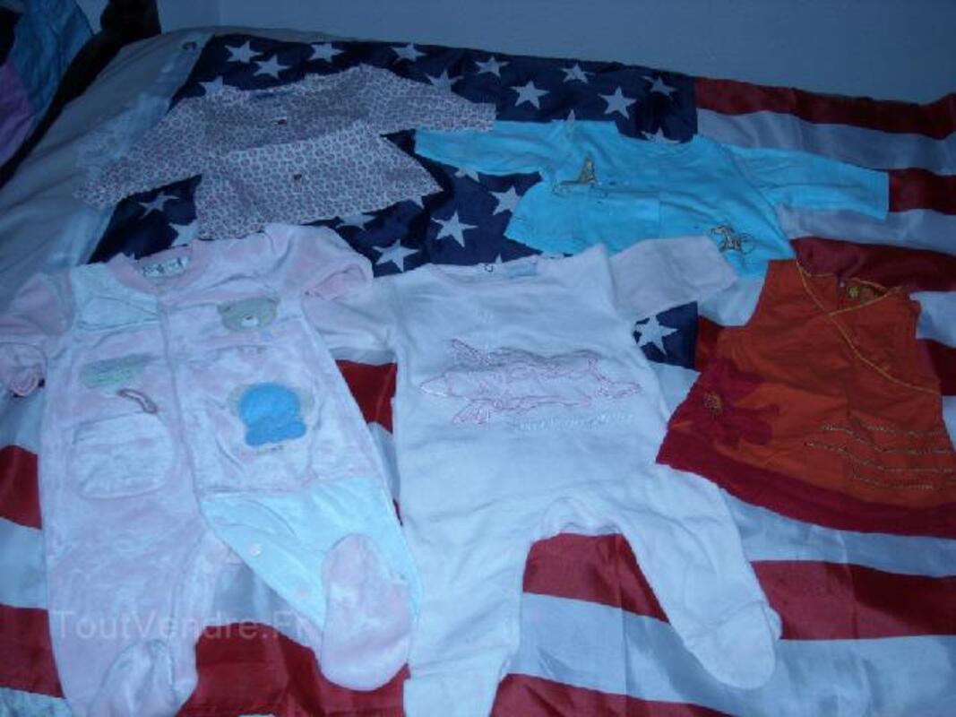 Lot de vêtements fille 3 mois 105400421