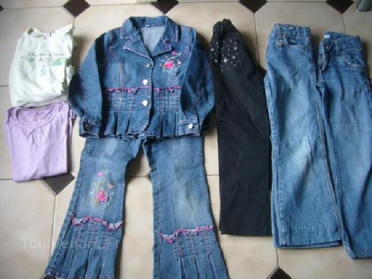 Lot de vêtements fille 7ans 96266658