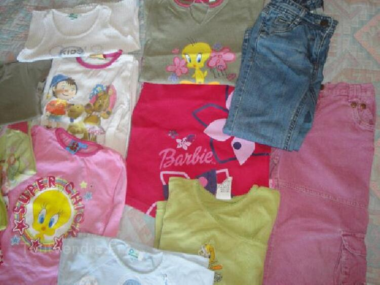 Lot de vetements fille en 5 ans 92232256