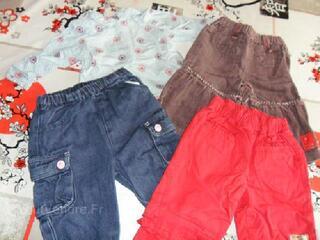 Lot de vêtements hiver 6 mois fille