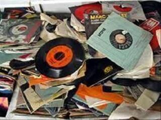 Lot de vinyls 45 tours