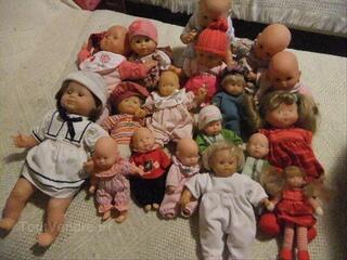 Lot de14 bébés  Corolle