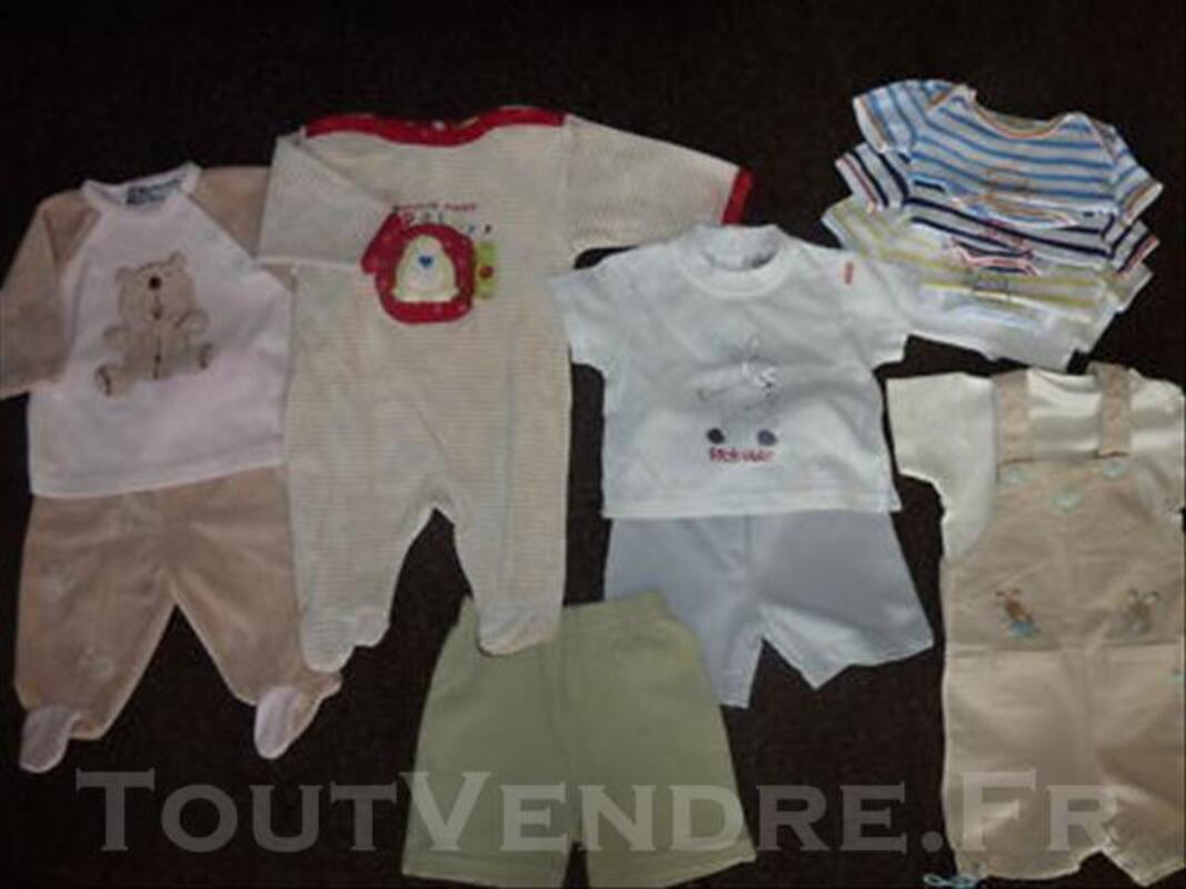 Lot garçon été 3 mois(ensembles et pyjamas+bodies) 75917756