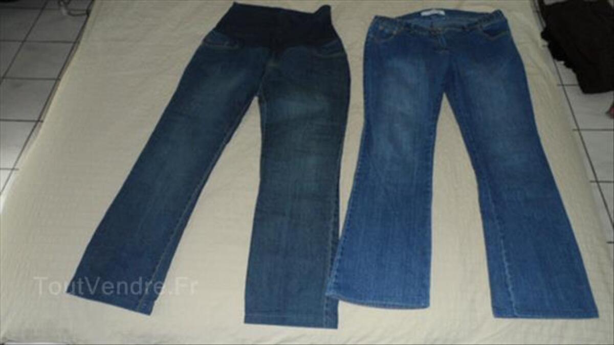 Lot jeans grossesse/maternité Delachaux/Balloon 40/42 87597551