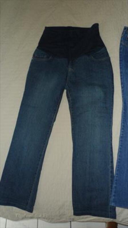 Lot jeans grossesse/maternité Delachaux/Balloon 40/42 87597552