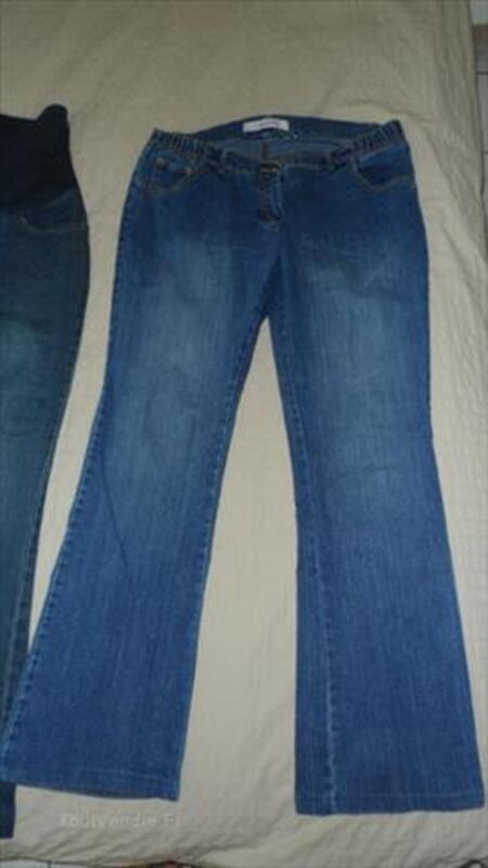 Lot jeans grossesse/maternité Delachaux/Balloon 40/42 87597553