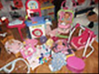 Lot jouet petites filles
