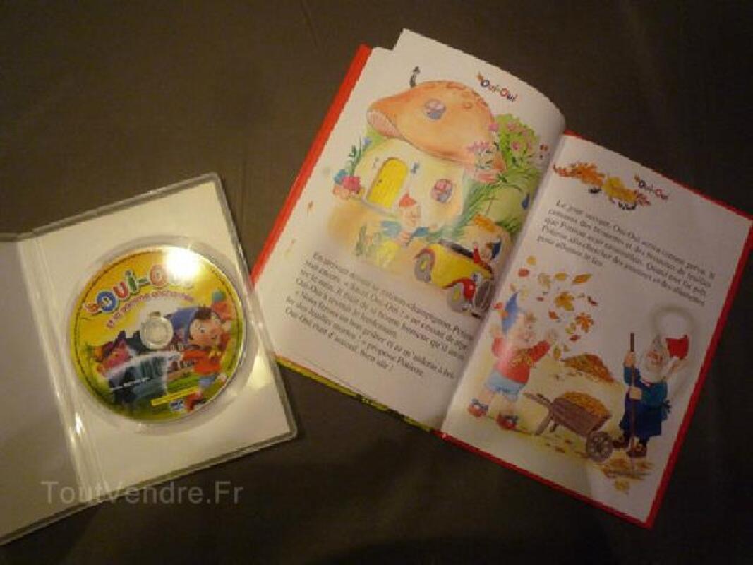 Lot jouets, DVD et livre Oui-Oui 92190762