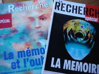 Lot  La Recherche : La mémoire et l'oubli -