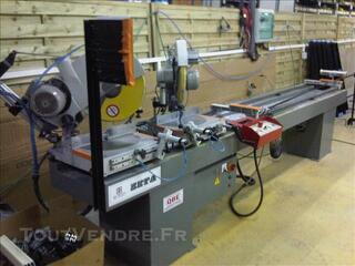 Lot machines usinage menuiseries aluminium