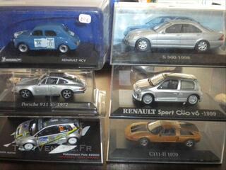 Lot miniatures 1/43 neuves rallye rally tourisme