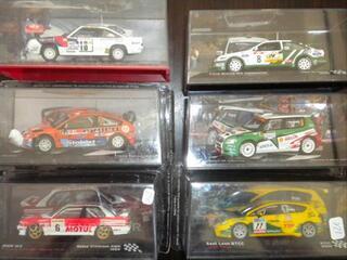 Lot miniatures 1/43 rally OPEL MANTA 400 1986