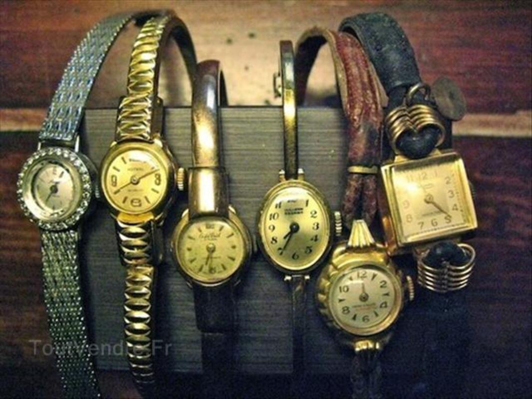 Lot montres anciennes 54598151