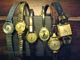 Lot montres anciennes