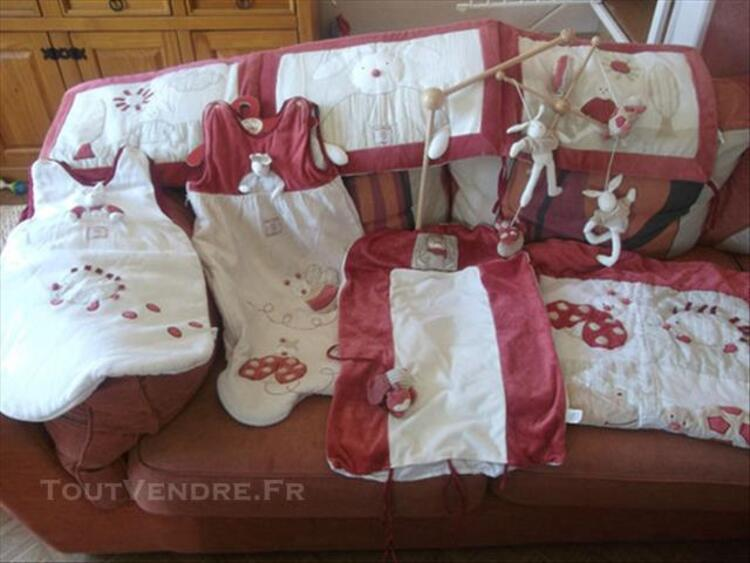 Lot moulin roty collection martin le lapin... 76860621