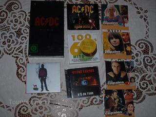 Lot N5 CD et DVD musique frais de port offert