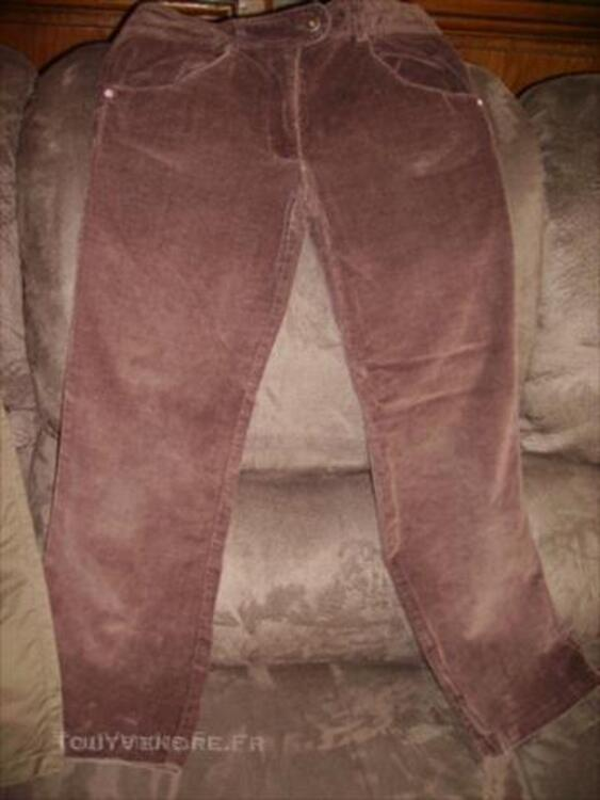 Lot pantalons Fille, 12 ans 44969408
