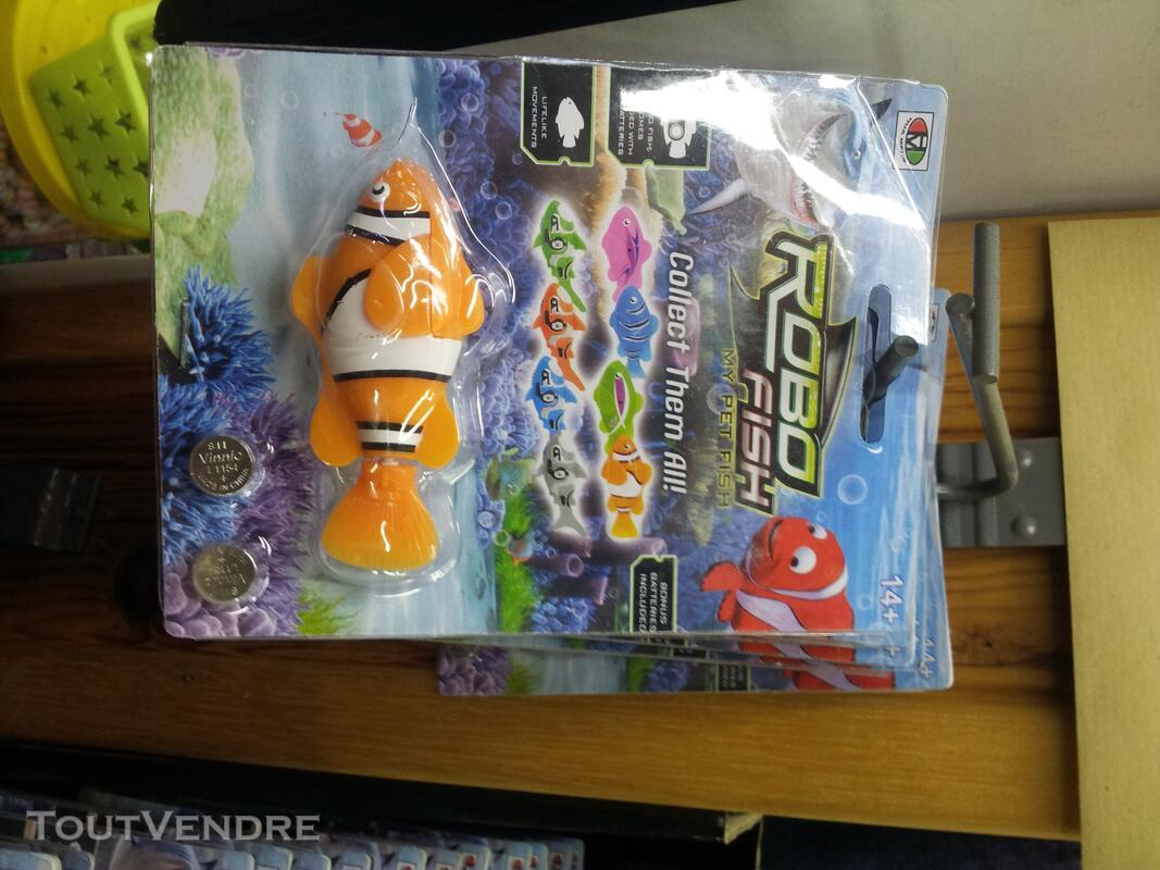 Lot poissons ROBOT FISH 120747458