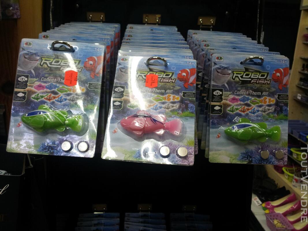 Lot poissons ROBOT FISH 120747461