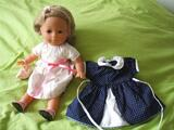 Lot poupée corolle blonde miss vanille 36 cm + robe