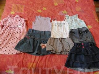 Lot robes filles 5 ans