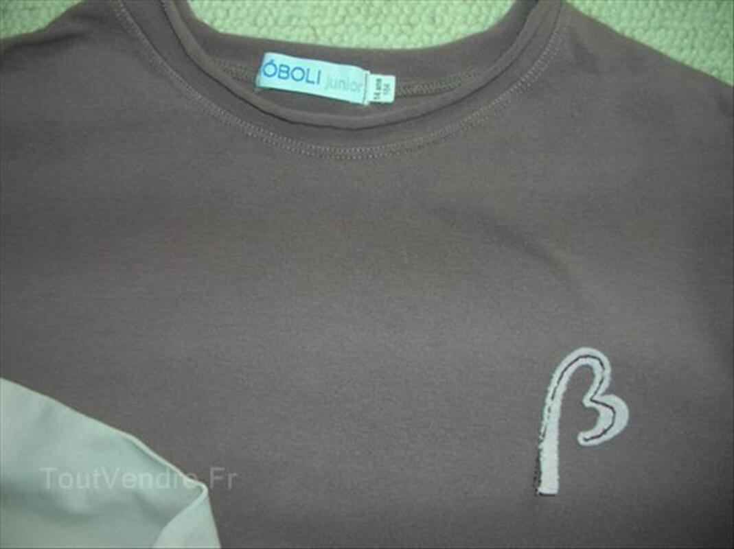 Lot rose : Tee shirt BONOBO + Tee shirt OKAIDI 14 ans T 56282504