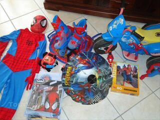 Lot spider man