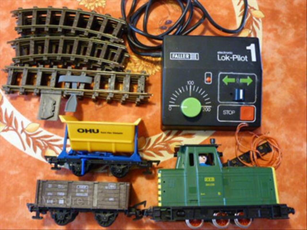 Lot train faller e-train pour playmobil etrain 87863010