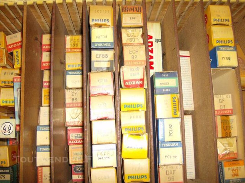 Lot tubes lampes transistors 78234062