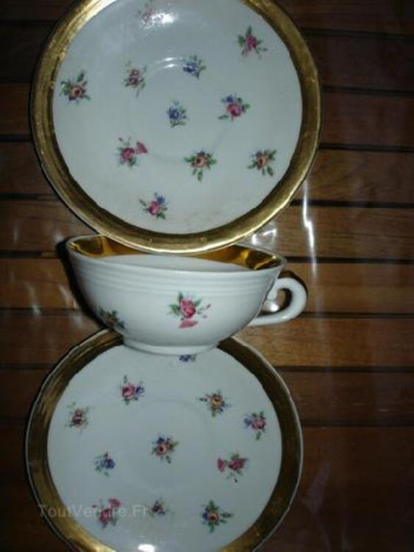 Lot vaisselle porcelaine de limoges ancienne 103118753