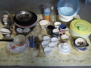 Lot Vaisselles / Assiette Verre Tasse Couverts Plat