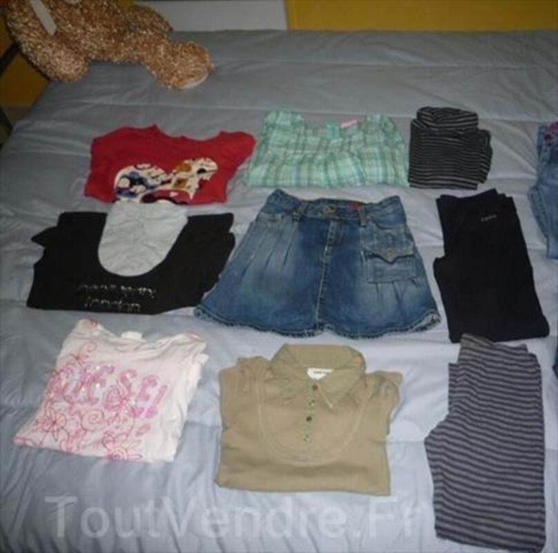 Lot vêtement de marque fille 8 ans, valeur 300€ 88202673