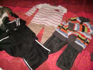 Lot vêtement enfant garçon 12 à 23 mois