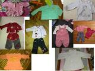 Lot vêtements 12 mois fille Disney, Next, Obaïbi