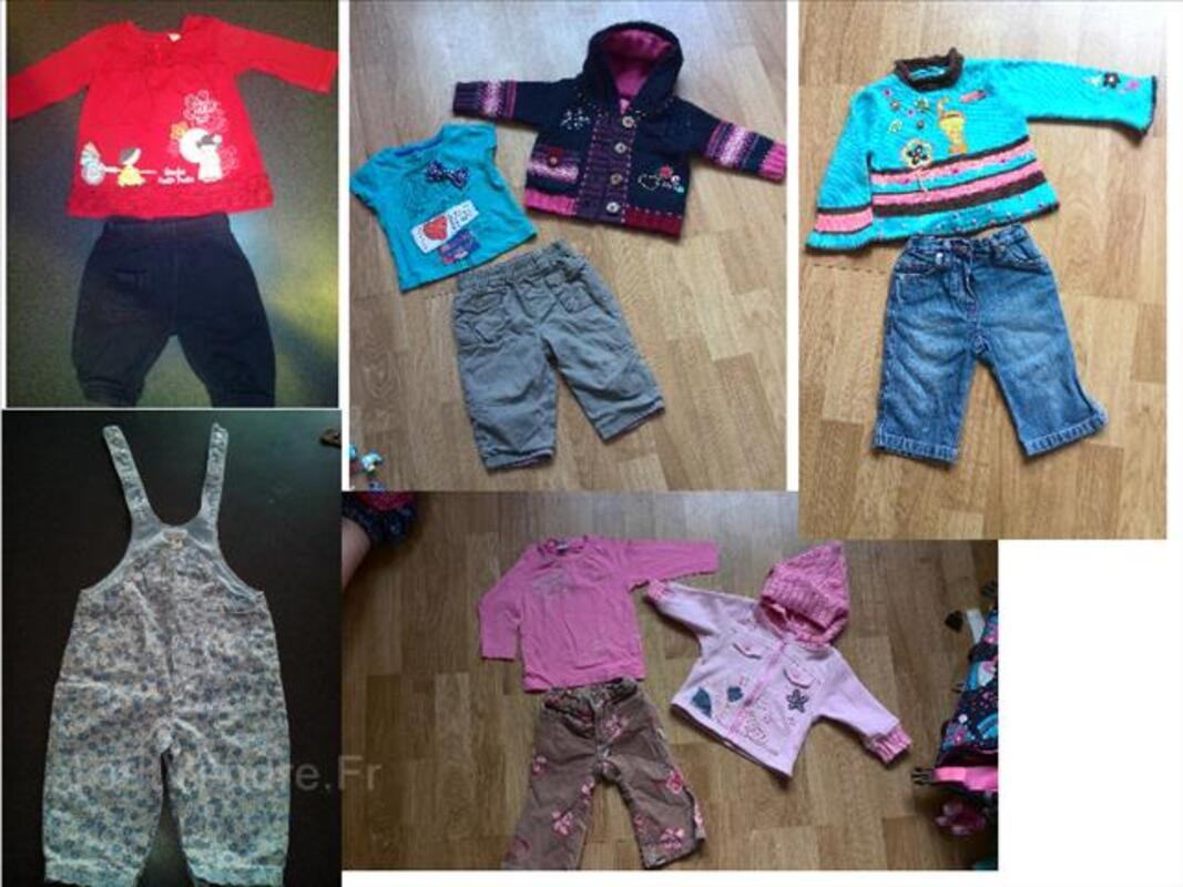 Lot vêtements 3/6 mois fille Disney, Next, Obaïbi 96442700