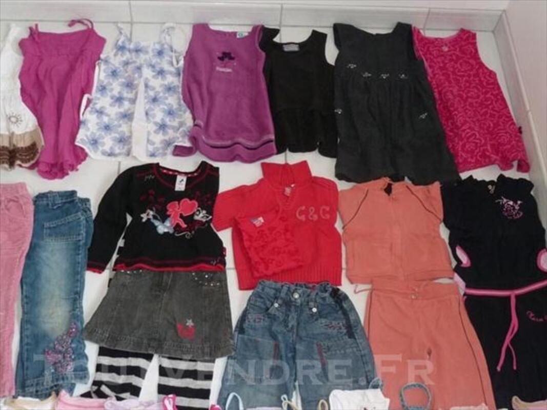 Lot vêtements 4-5 ans fille 76747657