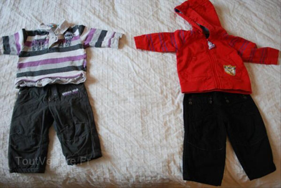 Lot vetements bebe garçon 6 mois hiver (marques) 56462020