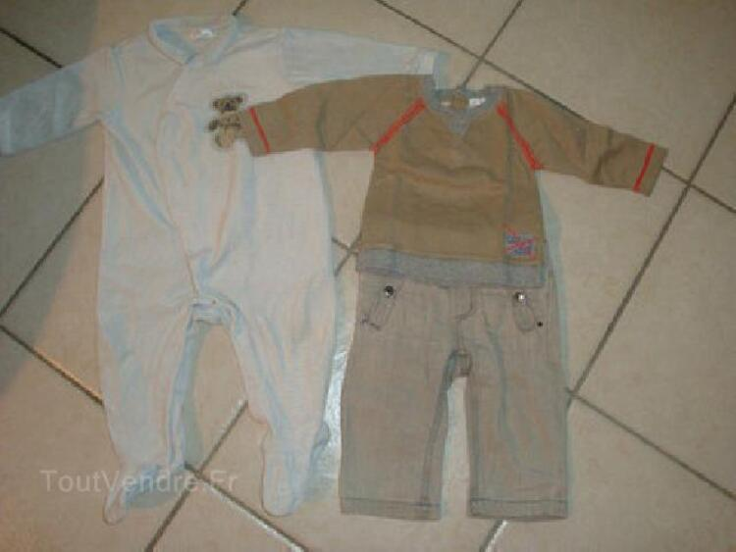 Lot vêtements bébé garçon 9 mois 95907424