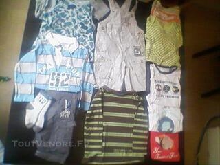 Lot vêtements été taille 2 ans