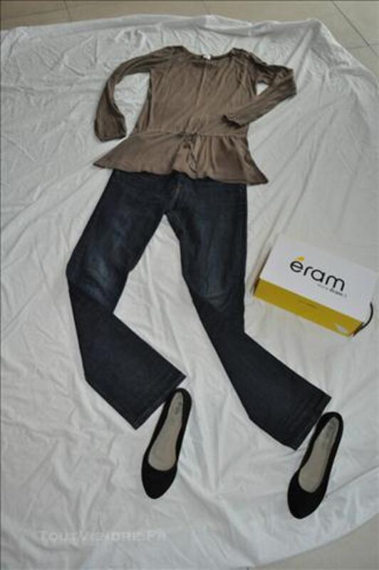 Lot vêtements femme et 2 paires de chaussures 75711147