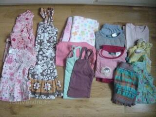 Lot vêtements fille 24 mois été