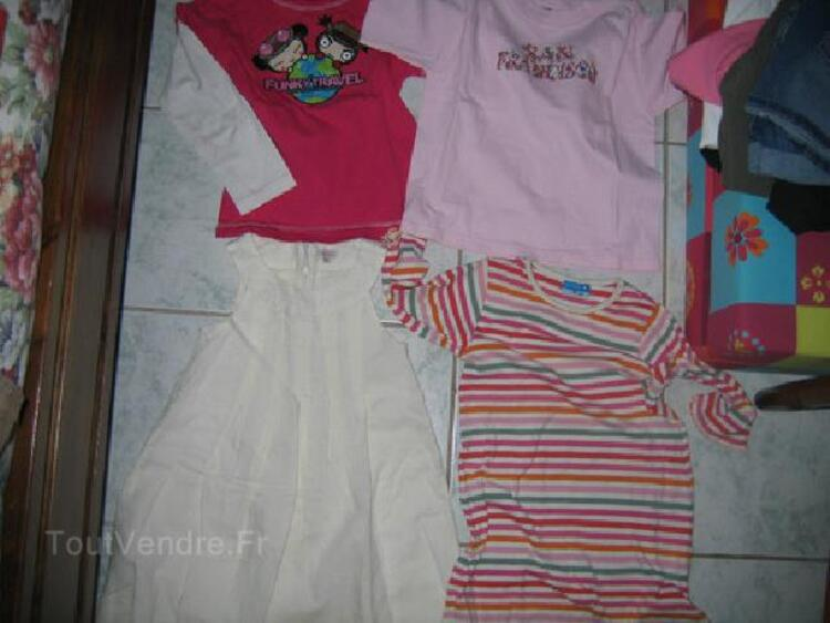 Lot vêtements fille 6 ans 90023779